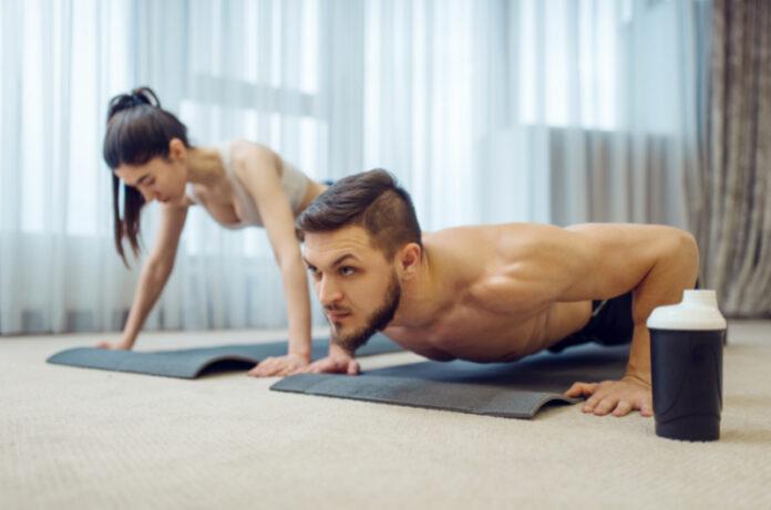 aumentare la massa muscolare a casa