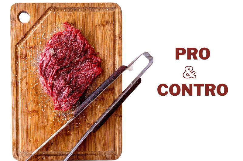 carne rossa pro e contro